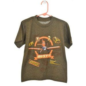Disney Store Brown Planes Graphic T-Shirt